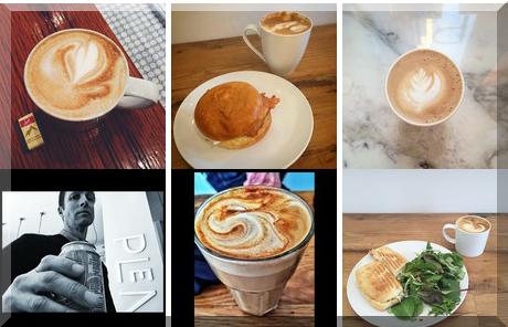 Cafe Plenty collage of popular photos