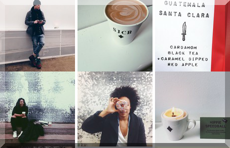 Sam James Coffee Bar collage of popular photos