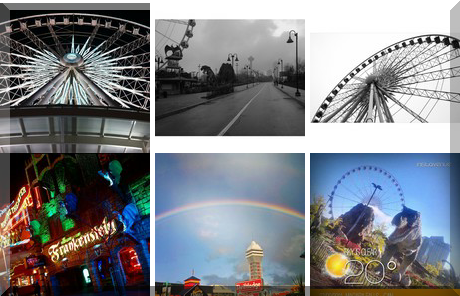 Clifton Hill Tourist Area collage of popular photos