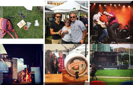 National Capital Craft Beer Week collage of popular photos