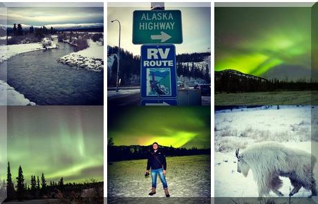 Whitehorse, Yukon collage of popular photos