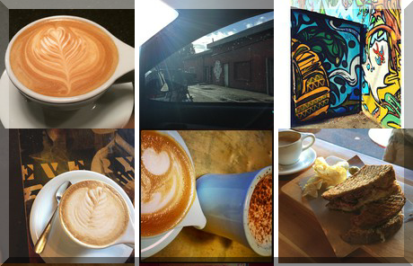 Fernwood Coffee Company collage of popular photos
