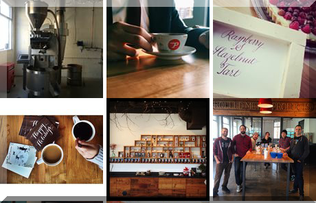 Propeller Coffee Co. collage of popular photos