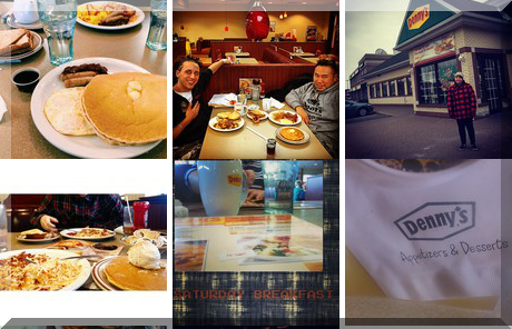 Denny's collage of popular photos