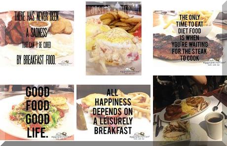 Eggspectation collage of popular photos