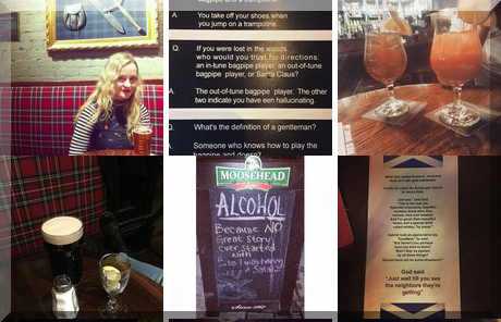 Highlander Pub collage of popular photos