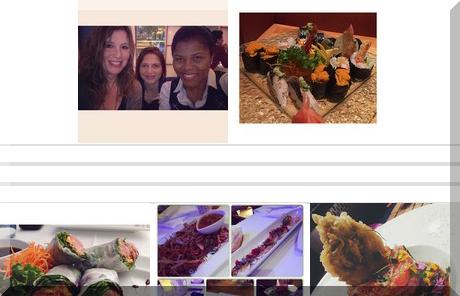 Mikasa Sushi Bar collage of popular photos