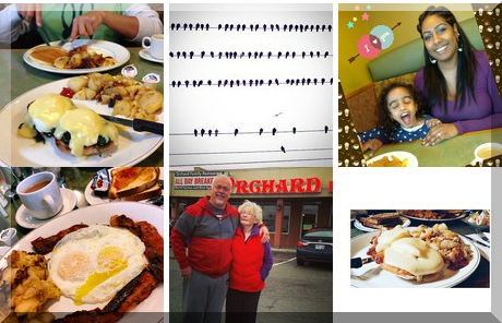 Orchard Family Restaurant collage of popular photos