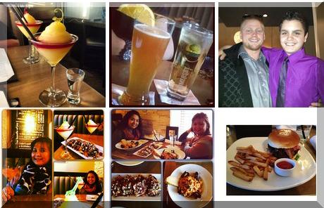 Milestones Grill + Bar collage of popular photos