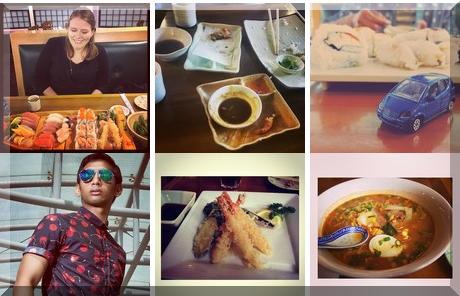 Sushi Tokyo collage of popular photos