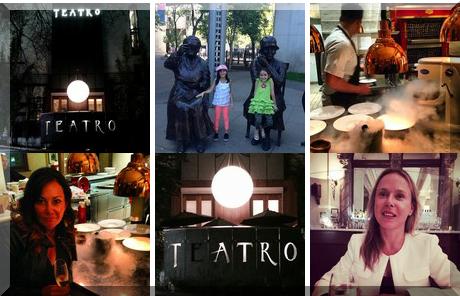 Teatro collage of popular photos