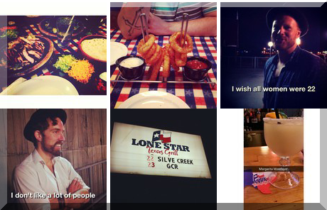 Lonestar Texas Grill collage of popular photos