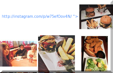 Red Robin Gourmet Burgers collage of popular photos