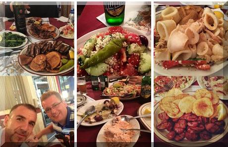 Tripoli Restaurant collage of popular photos