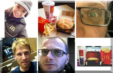 McDonald's Restaurant collage of popular photos