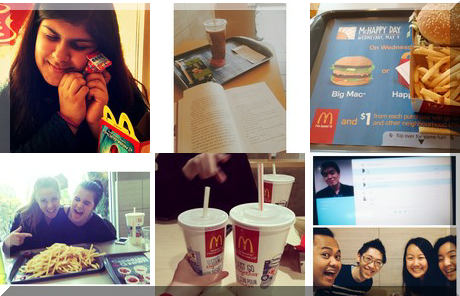 McDonald's Restaurants collage of popular photos
