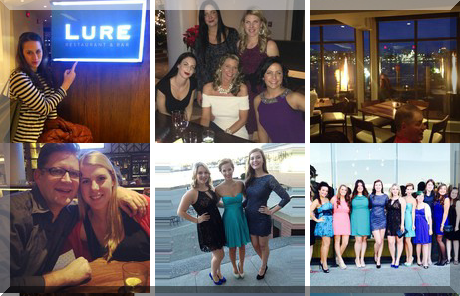 Lure Seafood Restaurant & Bar collage of popular photos