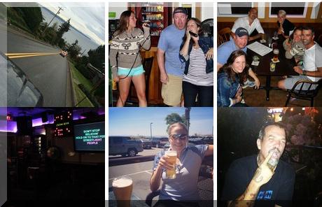 Sandpiper Pub collage of popular photos