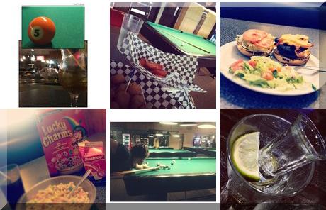 Alfie's Restaurant & Billiards collage of popular photos