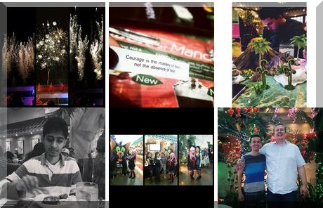 Mandarin Restaurant Franchise collage of popular photos