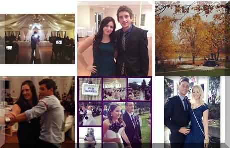 Three Bridges Banquet Hall collage of popular photos