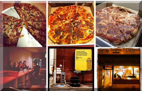 Danforth Pizza House collage of popular photos
