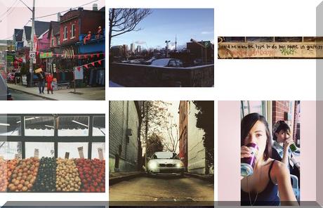 Kensington Cafe collage of popular photos