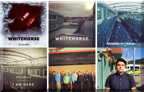 Westmark Whitehorse collage of popular photos