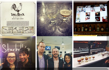 Big Rock Brewery collage of popular photos