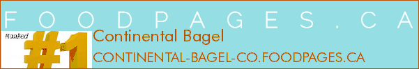 Continental Bagel