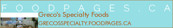 Greco's Specialty Foods