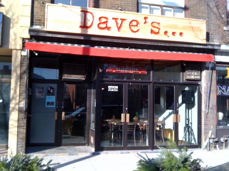 Dave's... On St. Clair
