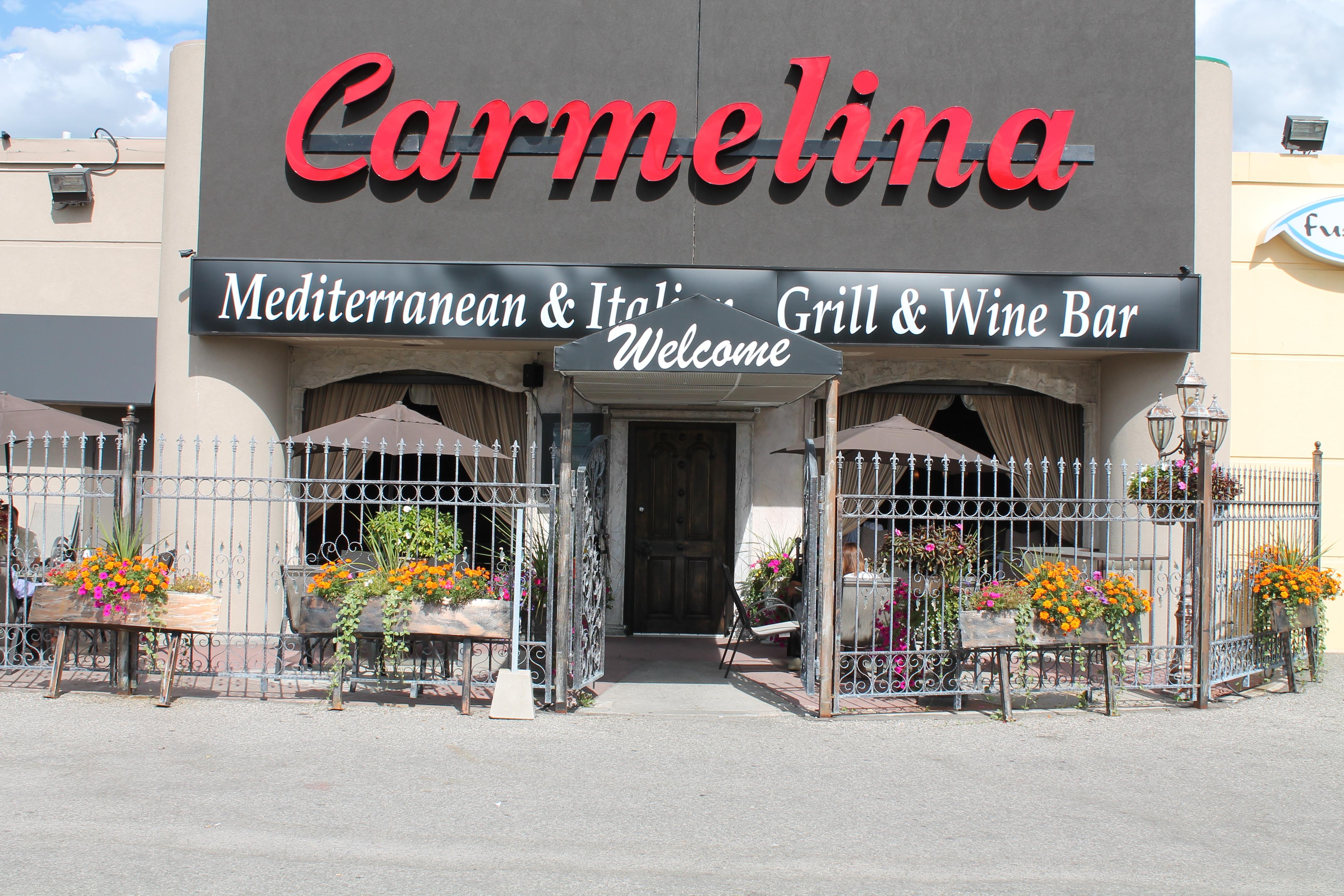 carmelina restaurant 7501 woodbine markham german mills