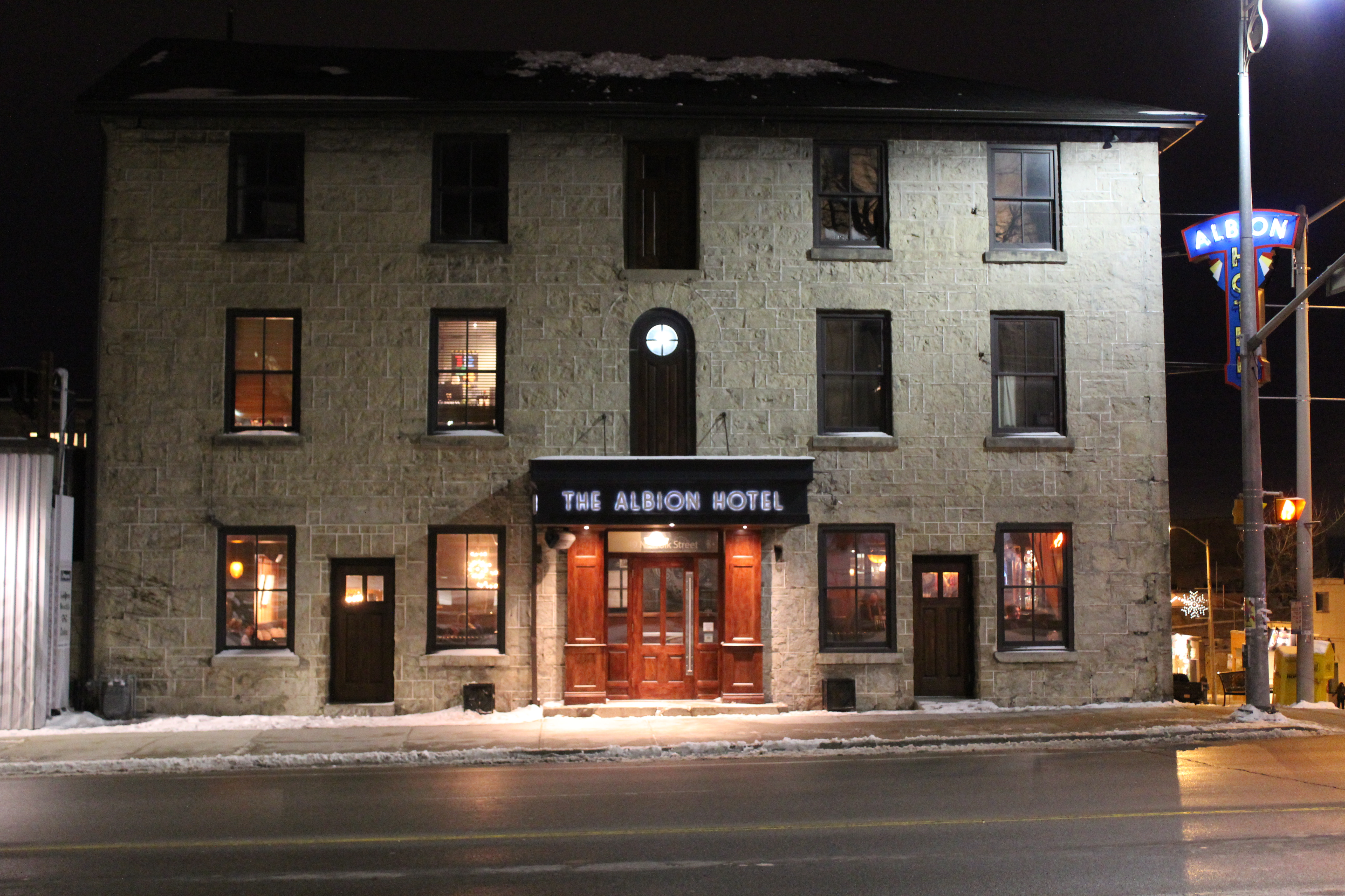 The Albion Hotel Restaurant
