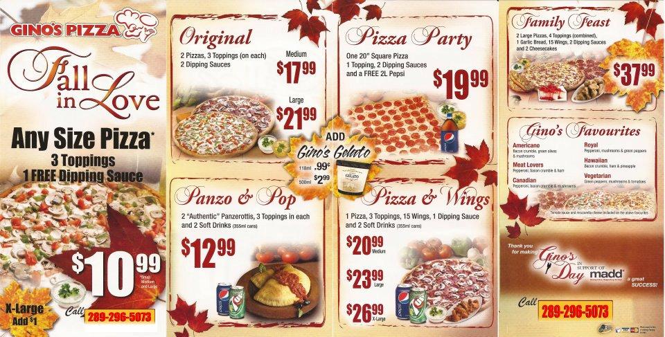 Ginos Pizza Photos