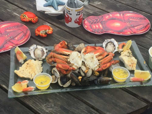 Review of Crabby Bob's Seafood on 2016-10-05 22:53:10