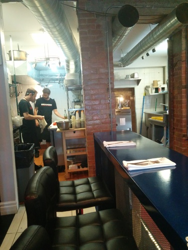 Review of Backdrop Restaurant on 2014-06-03 11:07:14
