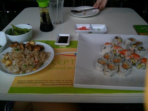 Review of Conception Sushi on 2014-07-31 11:57:52