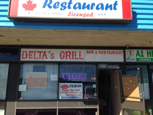 Review of Delta's Grill Bar & Restaurant on 2016-09-26 21:17:56