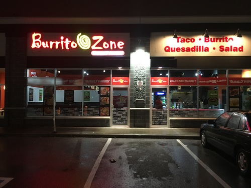 Review of Burrito Zone on 2015-12-15 21:26:05